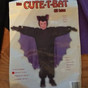 Bat costume 4-6
